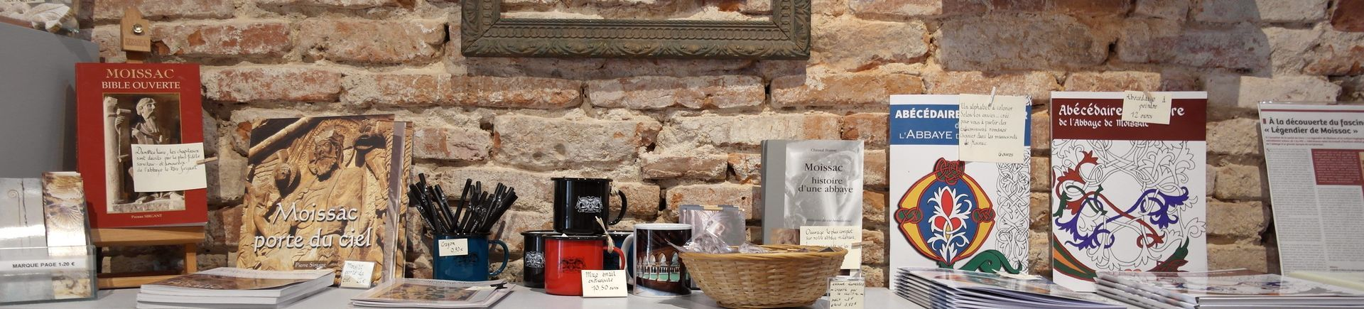 Boutique Abbaye Moissac Occitanie Sud-Ouest